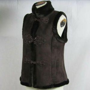 LNR by la nouvelle renaissance Brown Vest Large